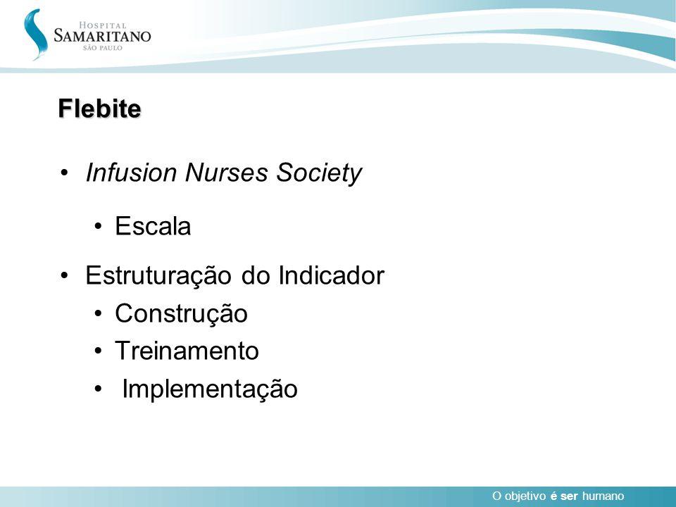 Flebite Infusion Nurses Society. Escala. Estruturação do Indicador.