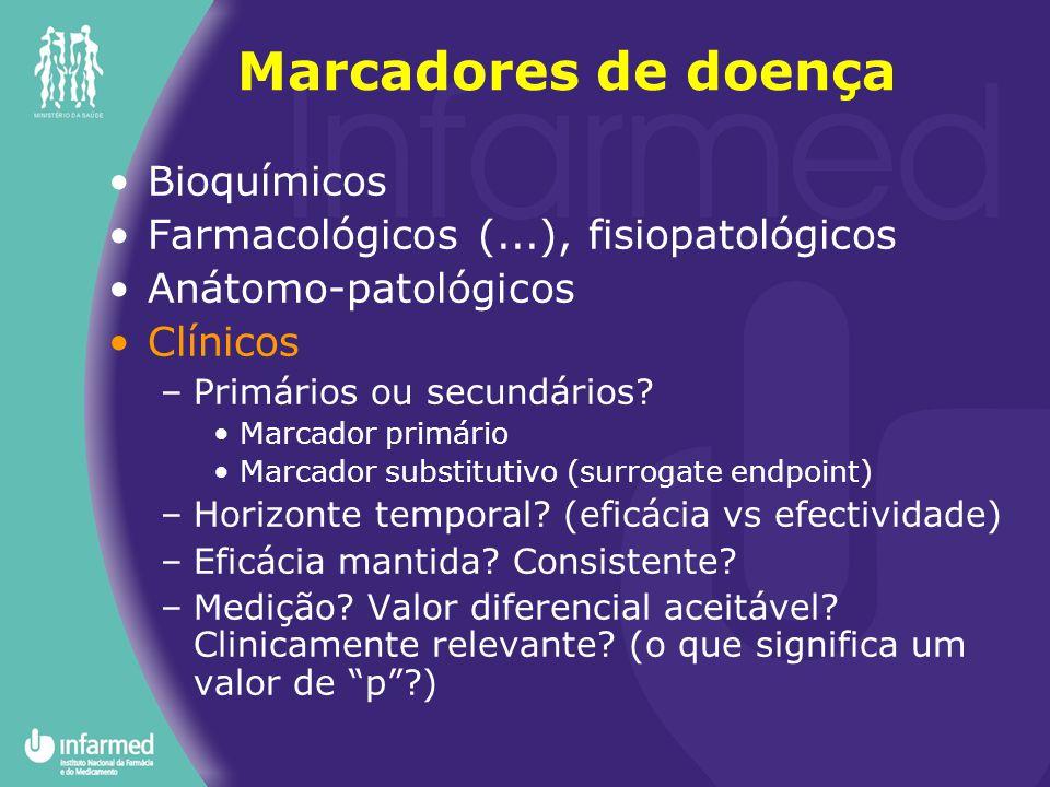 Marcadores de doença Bioquímicos