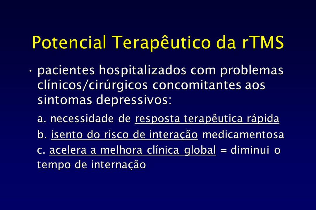 Potencial Terapêutico da rTMS