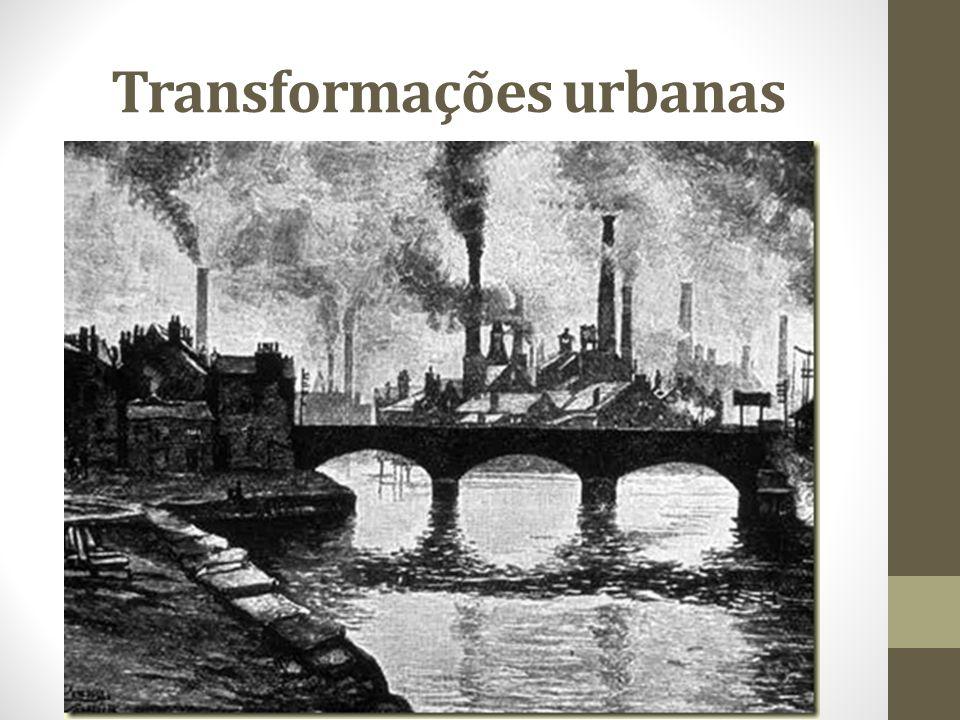 Transformações urbanas
