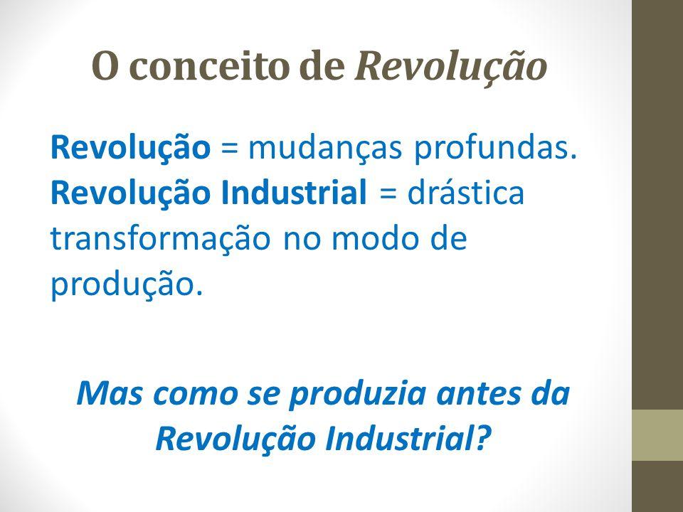 O conceito de Revolução