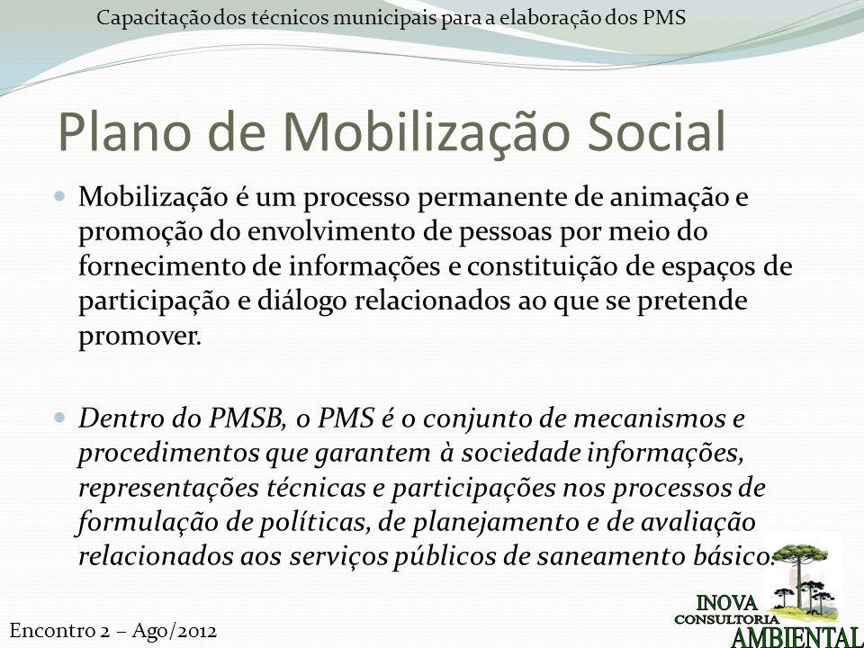 Plano de Mobilização Social