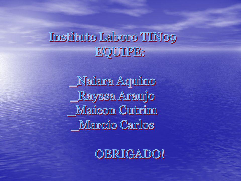Instituto Laboro TIN09 EQUIPE: _Naiara Aquino. _Rayssa Araujo.