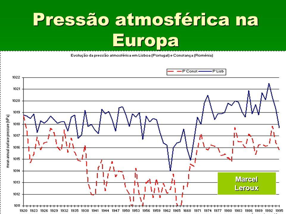 Pressão atmosférica na Europa