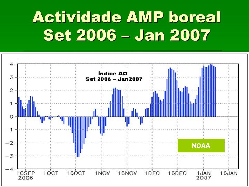 Actividade AMP boreal Set 2006 – Jan 2007