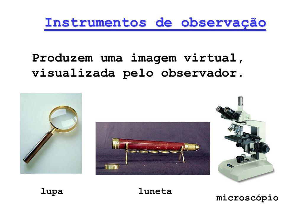 Instrumentos de observação