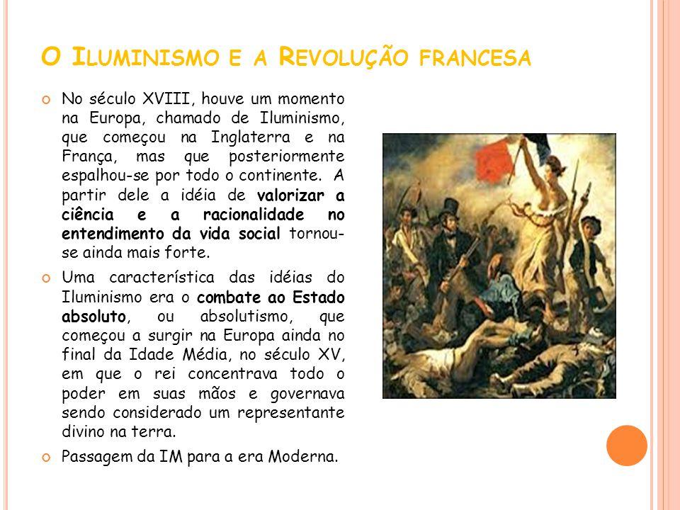 O Iluminismo e a Revolução francesa