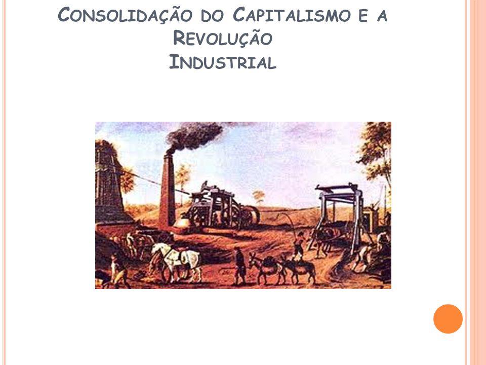 Consolidação do Capitalismo e a Revolução Industrial