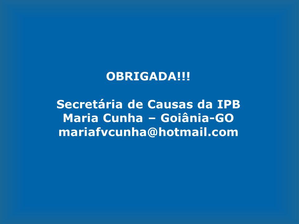Secretária de Causas da IPB