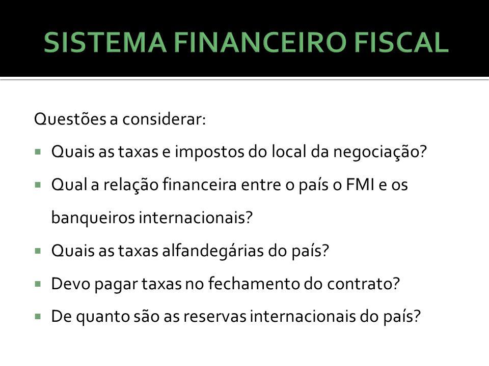 SISTEMA FINANCEIRO FISCAL
