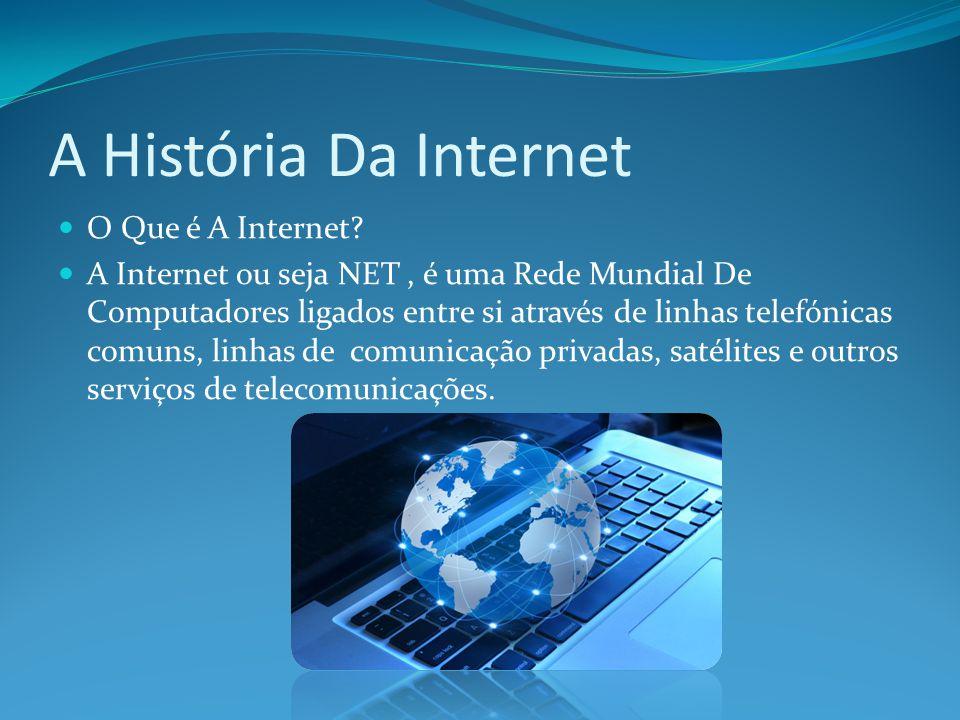 A História Da Internet O Que é A Internet