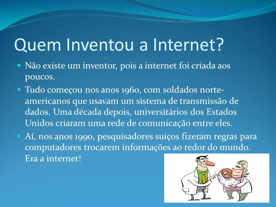 Quem Inventou a Internet