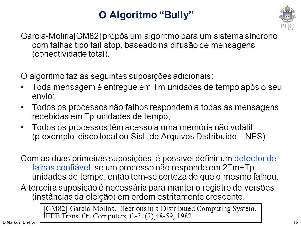 O Algoritmo Bully