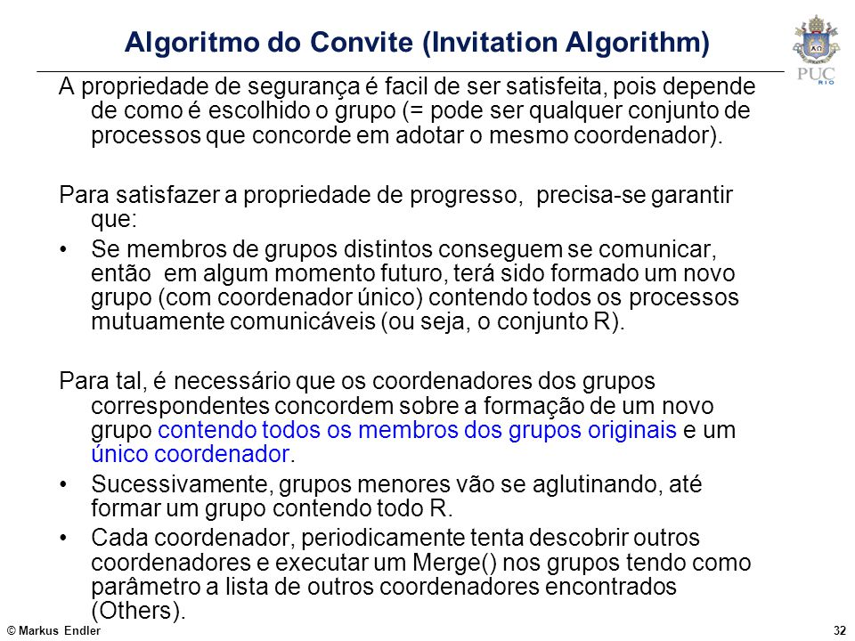 Algoritmo do Convite (Invitation Algorithm)