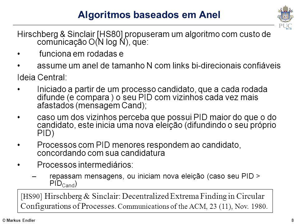 Algoritmos baseados em Anel
