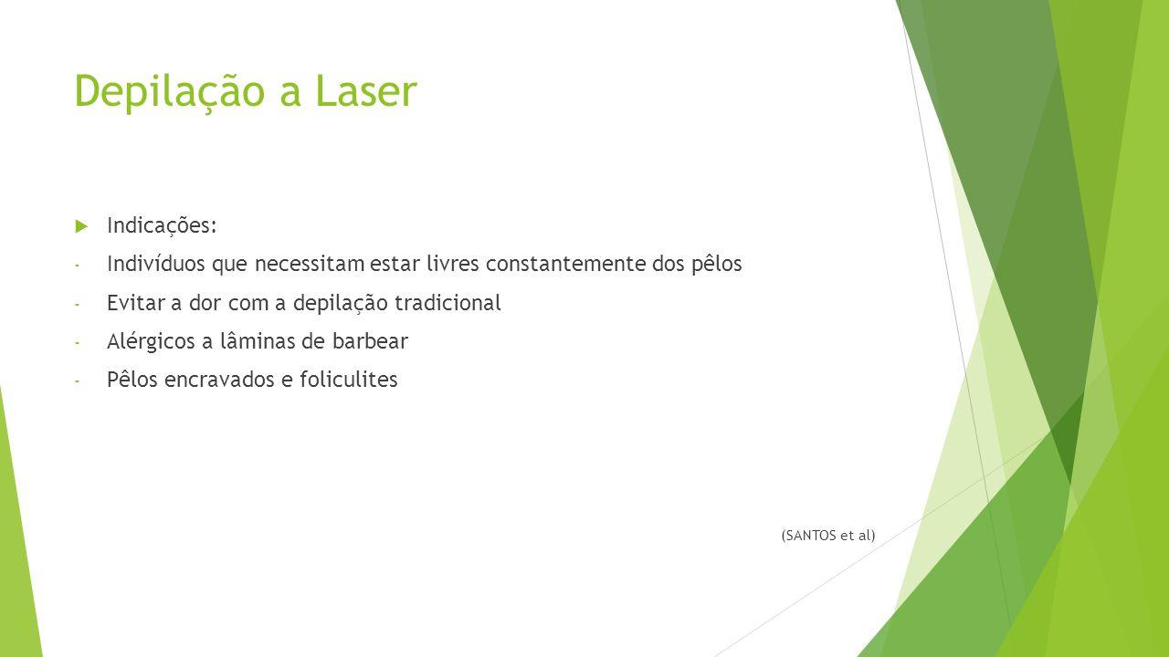 Depilação a Laser Indicações: