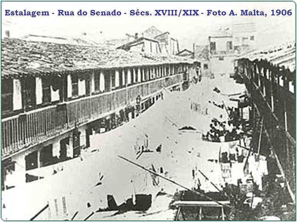 Estalagem - Rua do Senado - Sécs. XVIII/XIX - Foto A. Malta, 1906