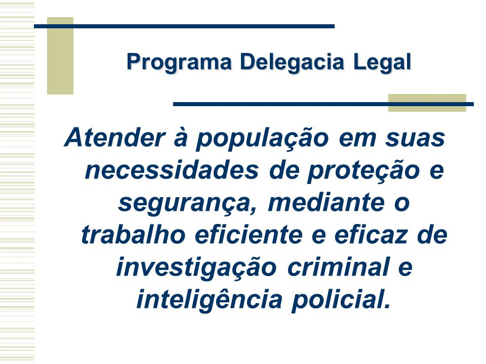 Programa Delegacia Legal