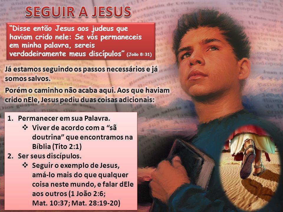 SEGUIR A JESUS