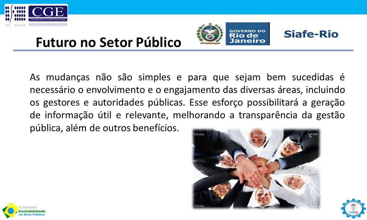 Futuro no Setor Público