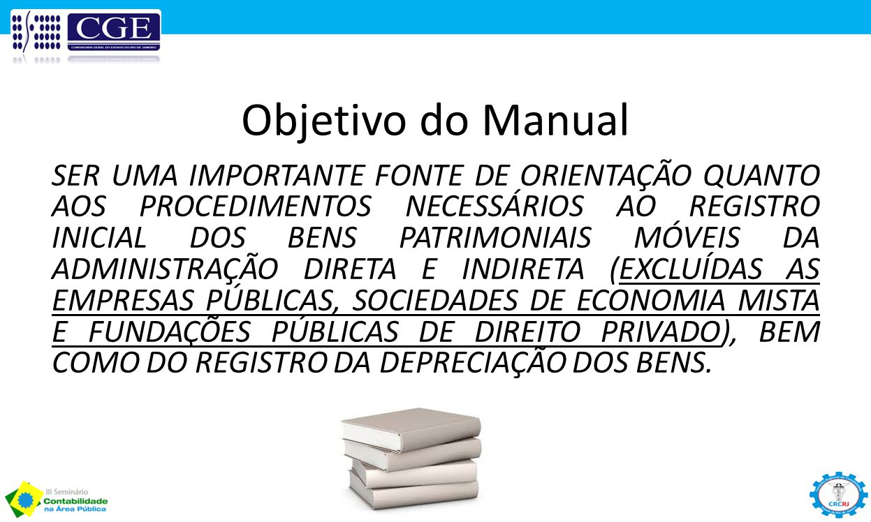 Objetivo do Manual