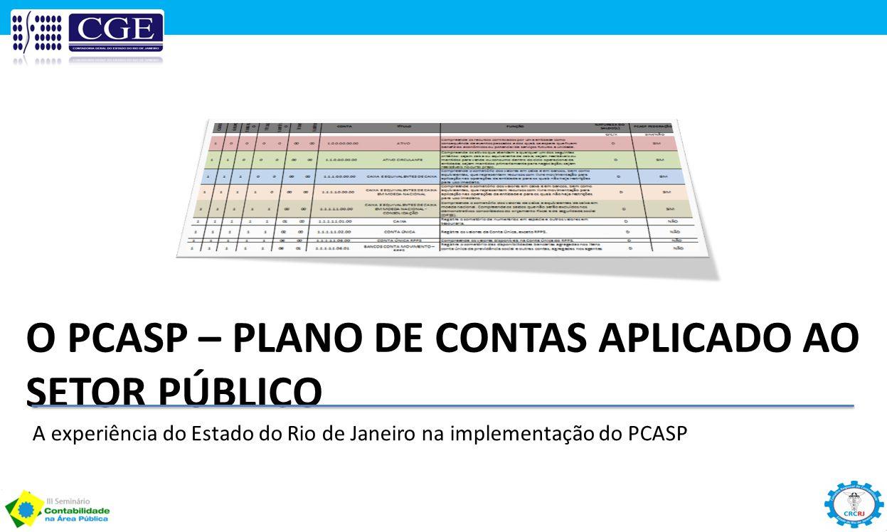 O PCASP – Plano de Contas Aplicado ao Setor Público