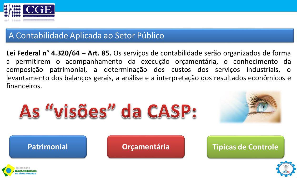 As visões da CASP: A Contabilidade Aplicada ao Setor Público