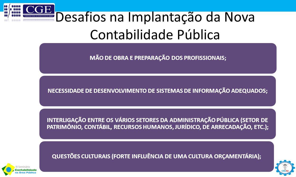 Desafios na Implantação da Nova Contabilidade Pública