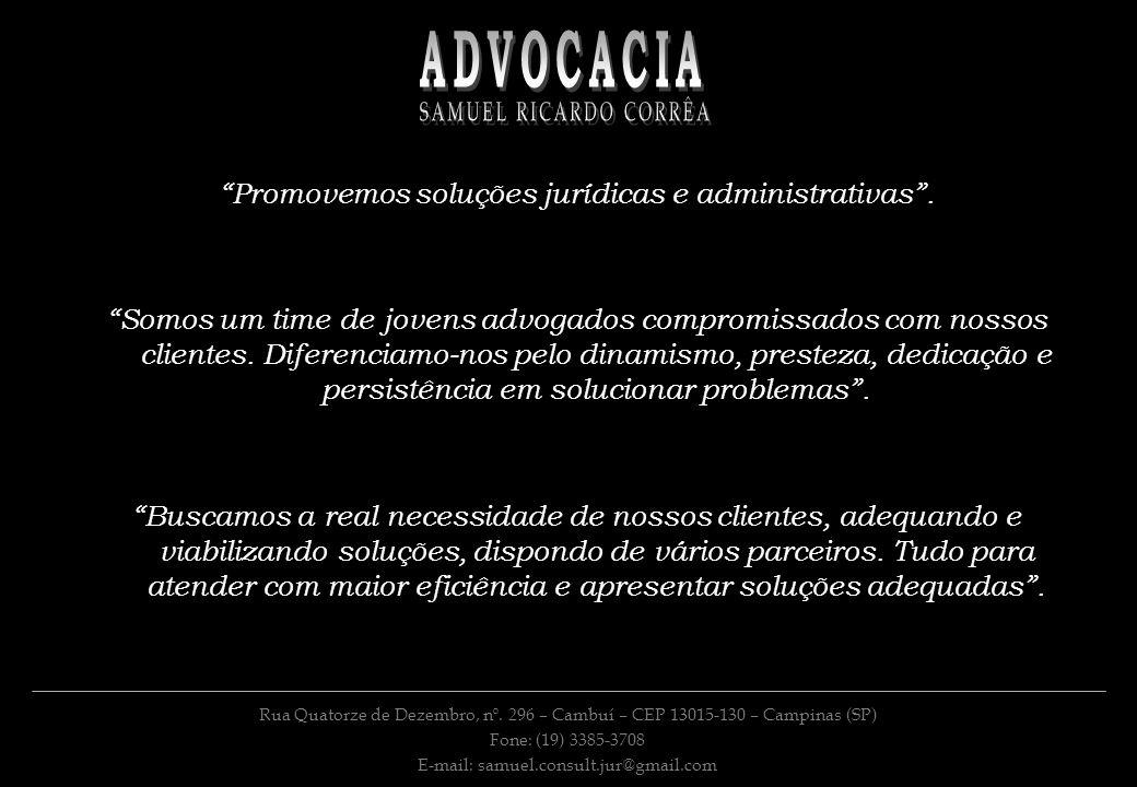 ADVOCACIA SAMUEL RICARDO CORRÊA