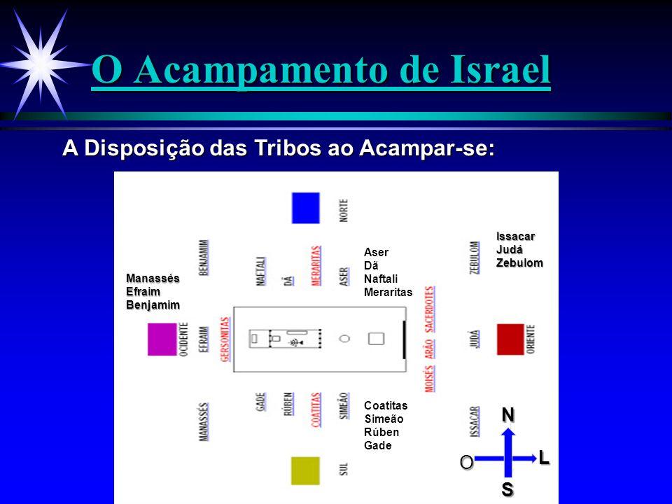 O Acampamento de Israel