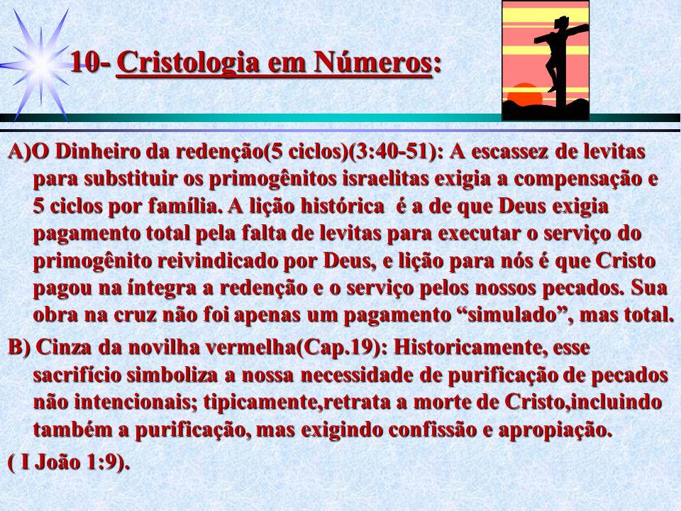 10- Cristologia em Números:
