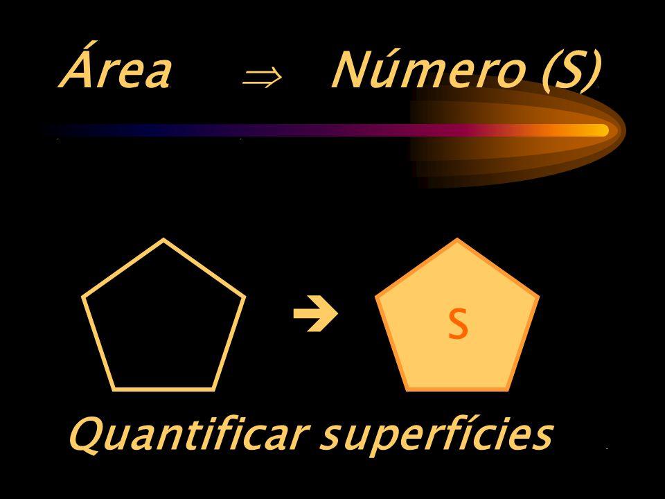 Área. .  Número (S). .
