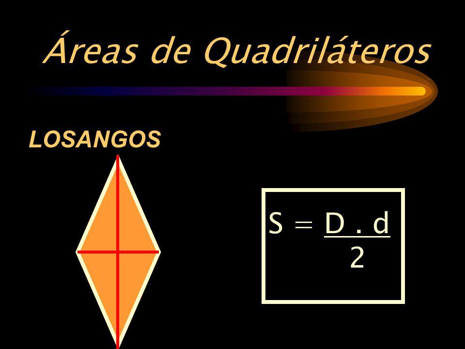 Áreas de Quadriláteros .