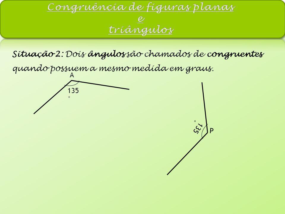 Congruência de figuras planas