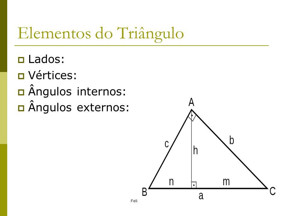 Elementos do Triângulo