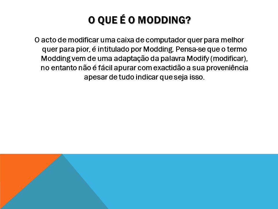 O que é o Modding