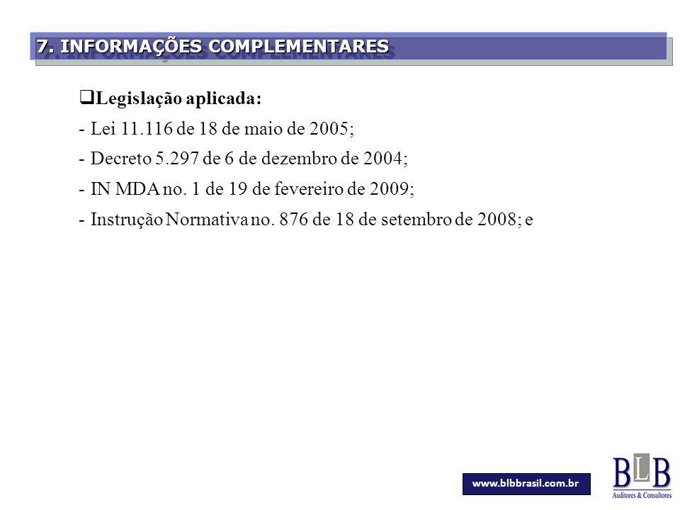 Decreto 5.297 de 6 de dezembro de 2004;
