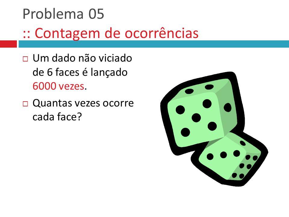 Problema 05 :: Contagem de ocorrências