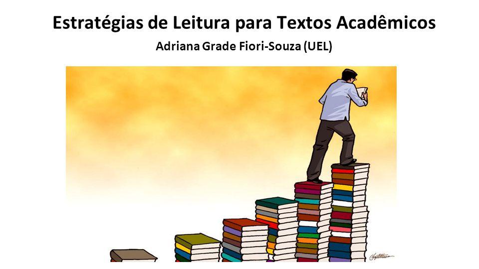 Estratégias de Leitura para Textos Acadêmicos