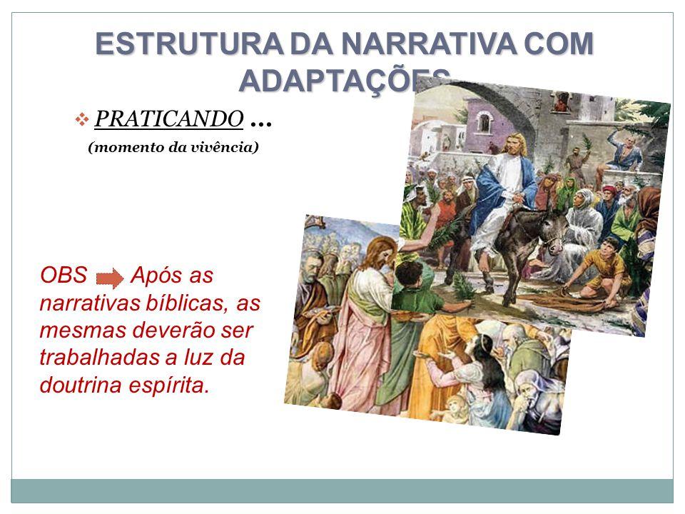 ESTRUTURA DA NARRATIVA COM ADAPTAÇÕES