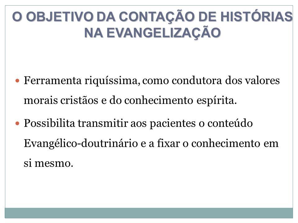 O OBJETIVO DA CONTAÇÃO DE HISTÓRIAS NA EVANGELIZAÇÃO