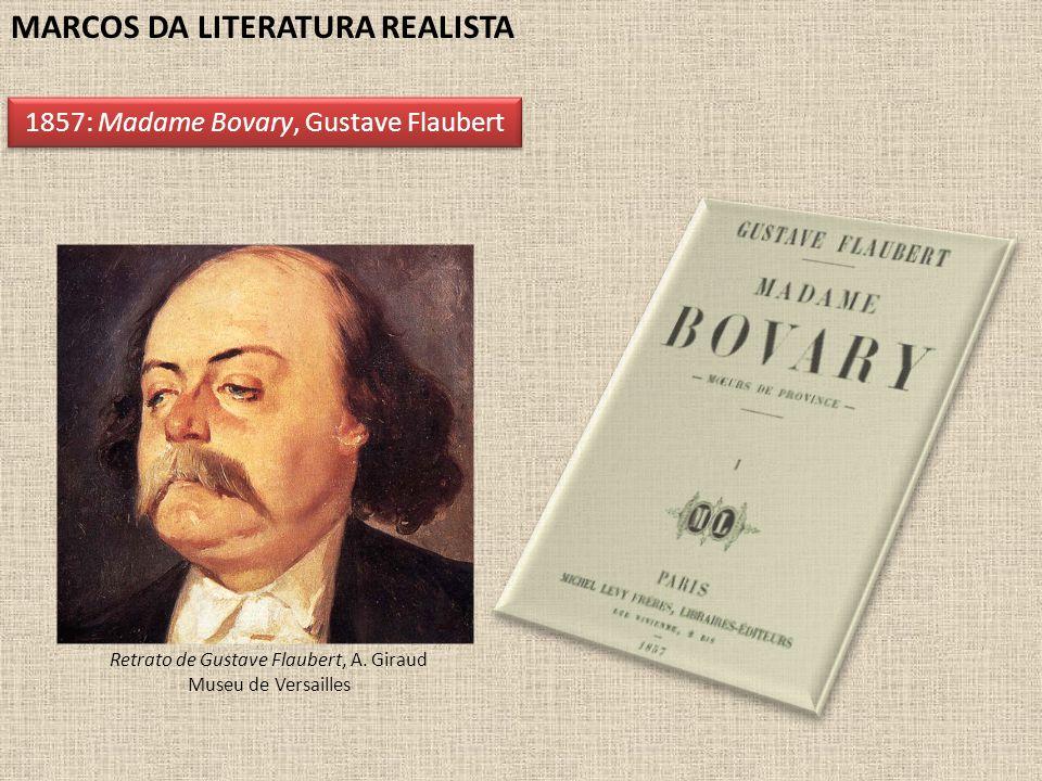 Retrato de Gustave Flaubert, A. Giraud