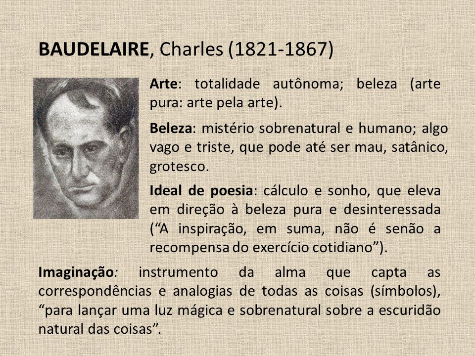 BAUDELAIRE, Charles (1821-1867)