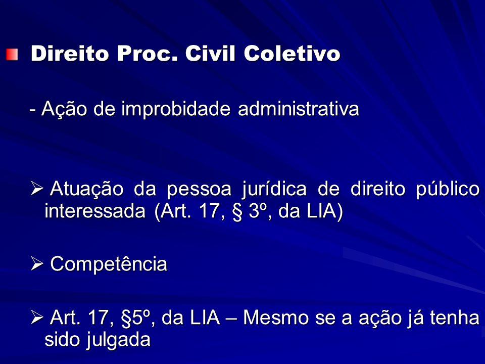 Direito Proc. Civil Coletivo