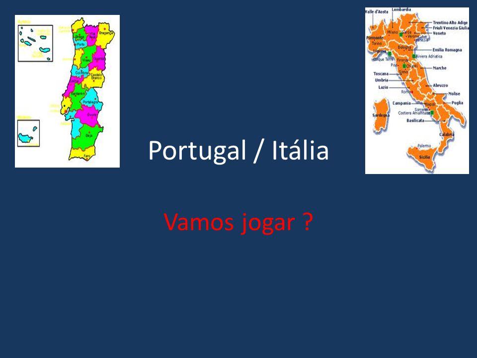 Portugal / Itália Vamos jogar