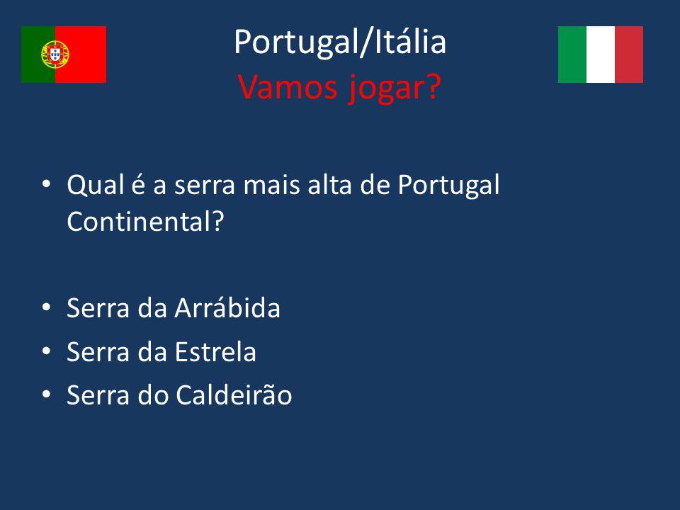 Portugal/Itália Vamos jogar