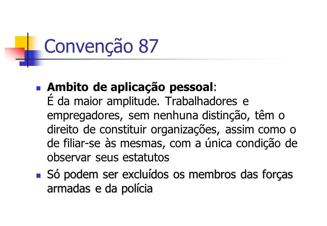 Convenção 87