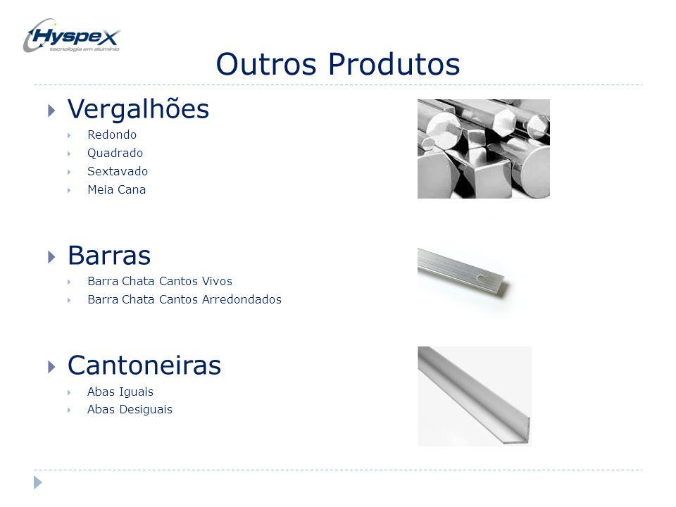 Outros Produtos Vergalhões Barras Cantoneiras Redondo Quadrado