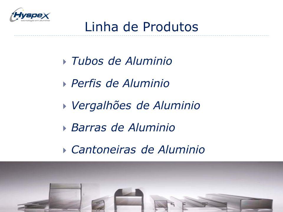 Linha de Produtos Tubos de Aluminio Perfis de Aluminio
