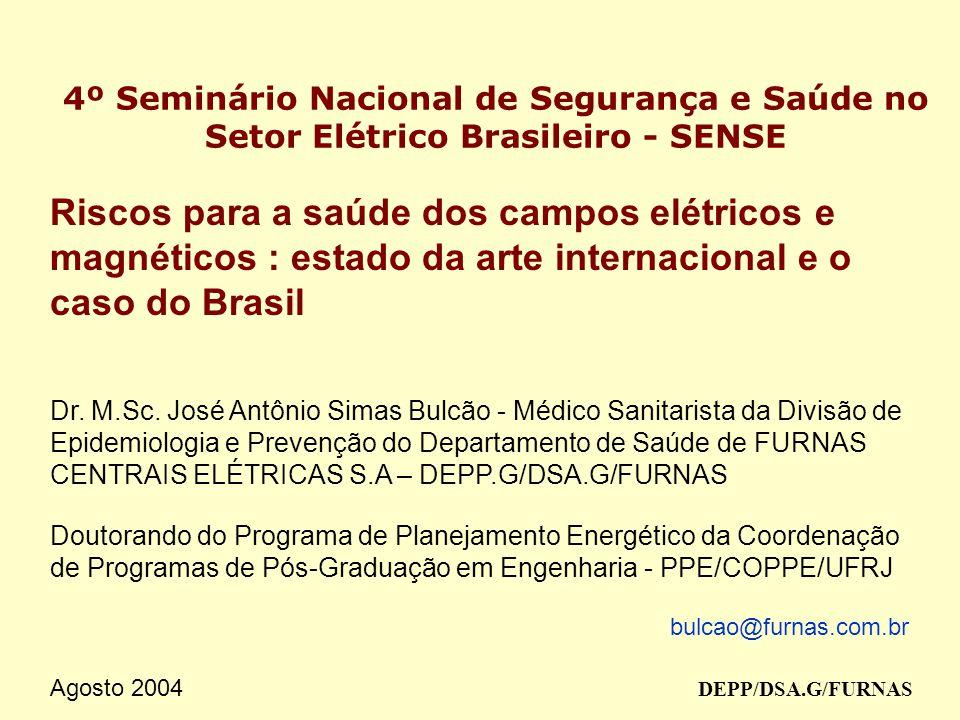 4º Seminário Nacional de Segurança e Saúde no Setor Elétrico Brasileiro - SENSE